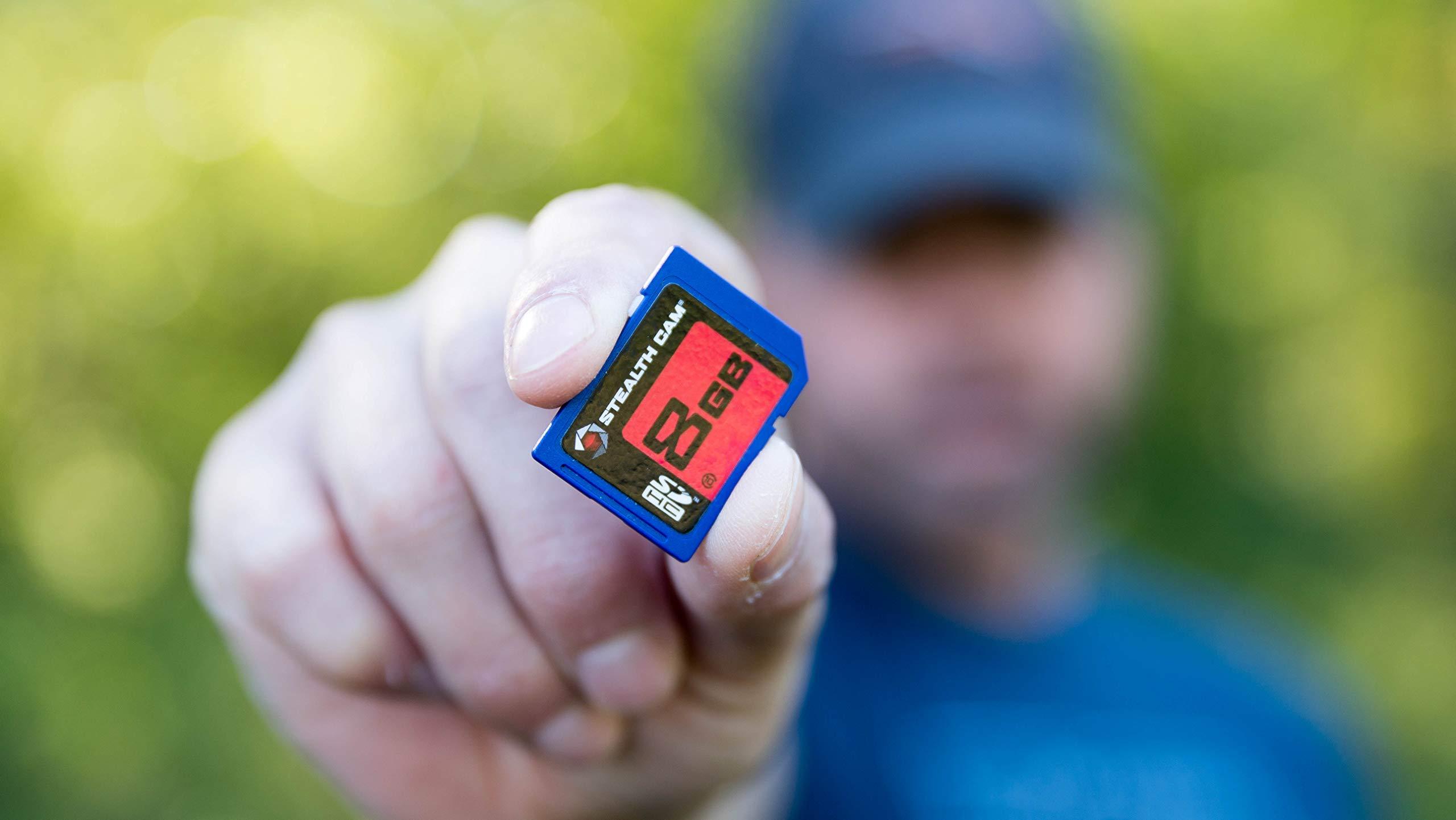 Stealth Cam 8GB Secured Digital Card, Single Pack