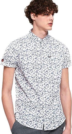 Superdry Premium Shoreditch S/S Shirt Camisa para Hombre: Amazon.es: Ropa y accesorios