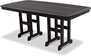 product image for Trex Outdoor Furniture Yacht Club Dining Table, Charcoal Black