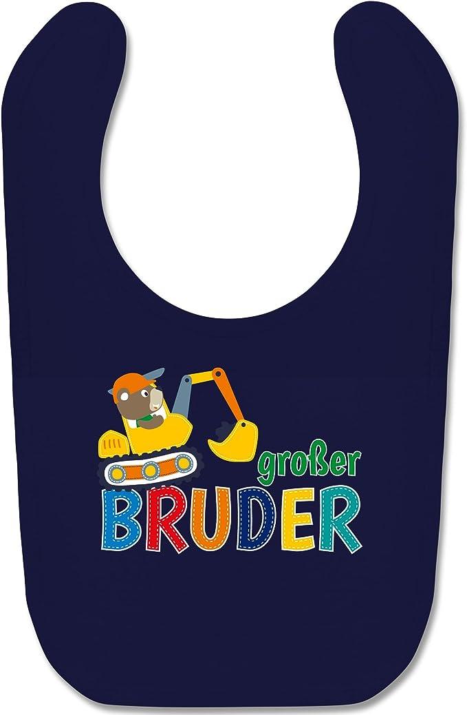 Shirtracer Baby T-Shirt Langarm Gro/ßer Bruder Bagger Geschwisterliebe Baby