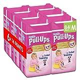 Huggies Pull Ups Potty Training Pants for Girls, Medium - 84 Pants Total