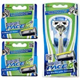 Amazon Price History for:Dorco Pace 6 Plus- Six Blade Razor System with Trimmer - Value Pack (10 Cartridges + 1 Handle)