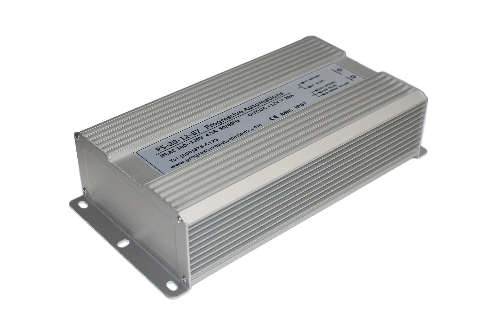 Progressive Automations PS-20-12-67 Power Supply