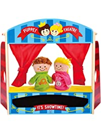 Amazon Com Puppet Theaters Toys Amp Games