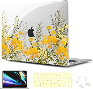 CISSOOK Cover for MacBook Air 13 Inch Case 2020 2019 2018 Release Model A2337 M1 Chip Version A2179 A1932, Plastic Hard Shell Cover for MacBook Air 13