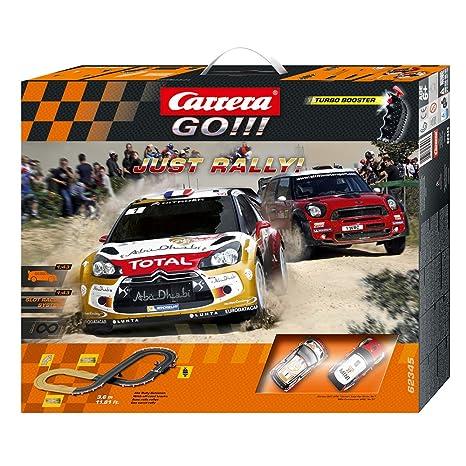 Carriera 20.062.345 - Go!!! Just Rally!, Circuito da Corsa, incl. 2  macchinine, Scala 1:43
