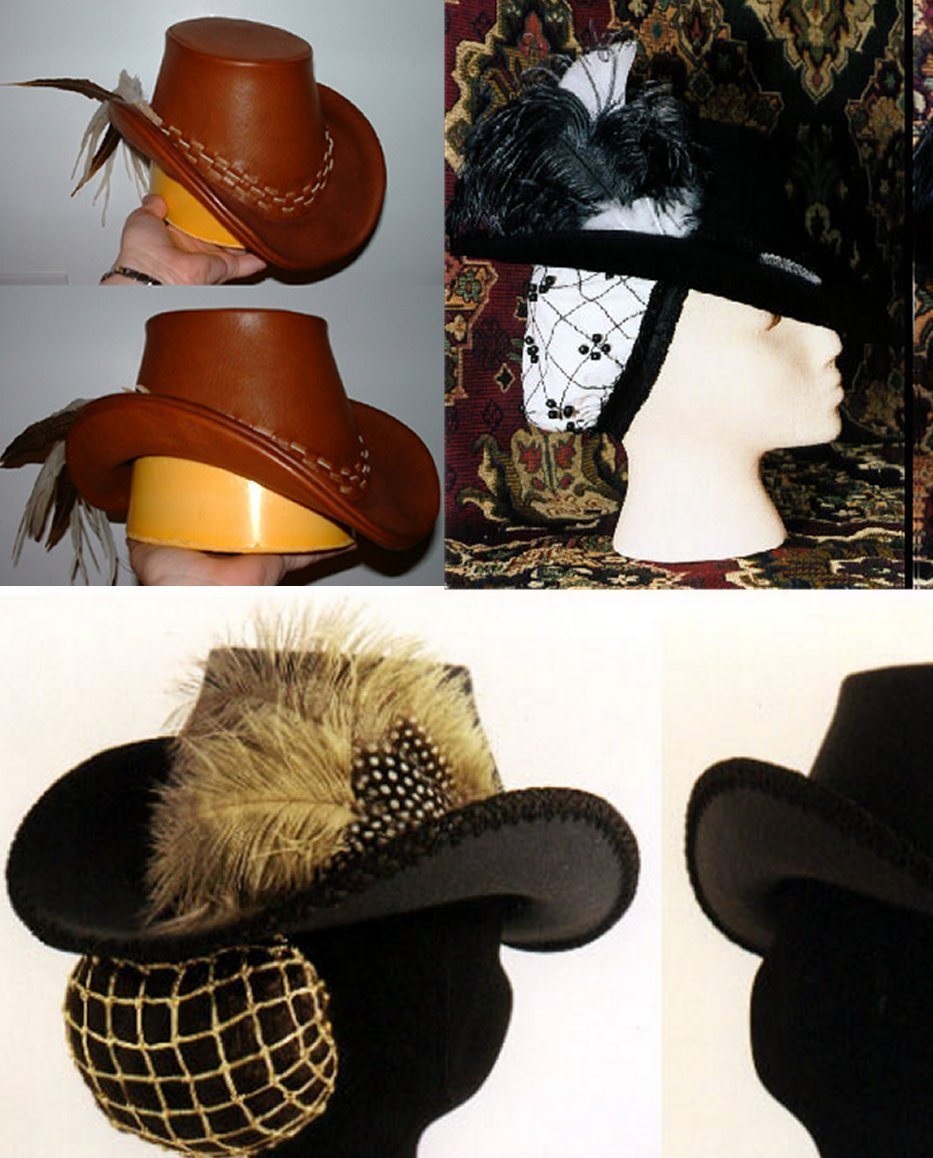 085b001dbb3 Amazon.com  Women s Elizabethan Arched Brim Tall Hat Pattern  Sports    Outdoors