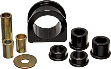 Energy Suspension 8.10103R Rack and Pinion Bushing Set for 4WD
