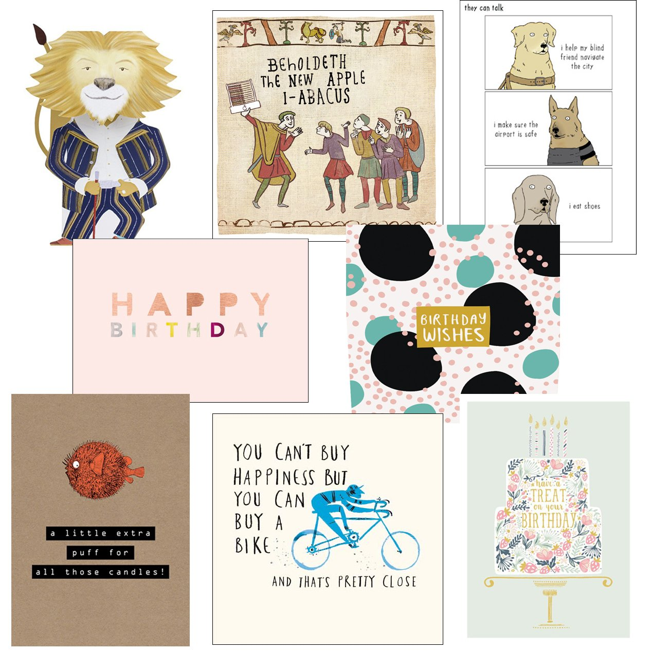 Greeting cards collection beautiful 1 8 luxury art cards premium greeting cards collection smile 1 8 contemporary and humorous cards premium quality birthday kristyandbryce Choice Image
