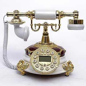 Estilo Europeo Teléfono Retro estilo rústico Home fijo