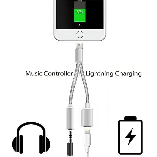 2 opinioni per Belker 2in 1Lightning a jack 3.5mm, adattatore per iPhone 7e IPHONE7Plus