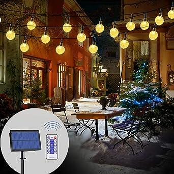 Led Solar Lichterkette Garten Infinitoo 6m 40 Led Solar Beleuchtung