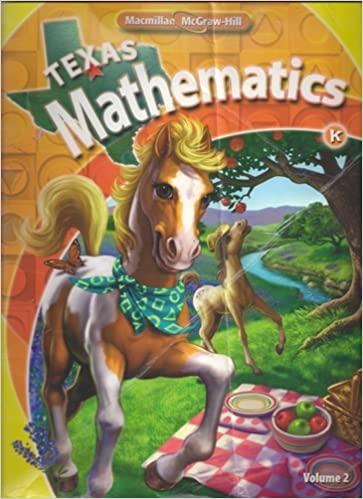Texas Mathematics: K: Volume 2