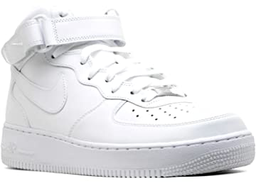 best service 5e0bc 319c6 Nike Air Force 1 Mid 07 White White Mens Fashion Sneakers 315123-111