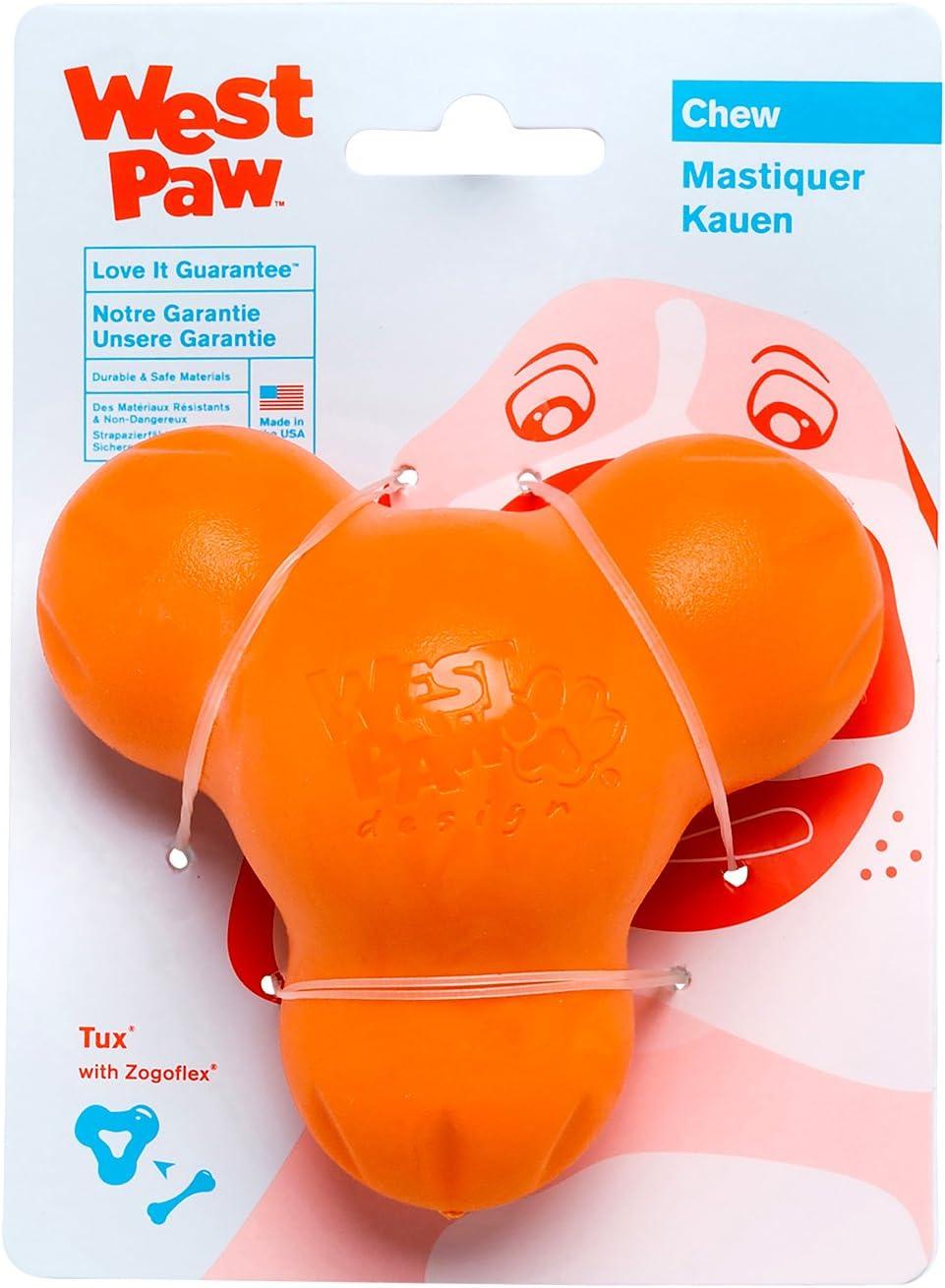 West Paw Zogoflex Tux Interactive Treat Dispensing Dog Chew Toy