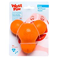 West Paw Zogoflex Tux Interactive Treat Dispensing Dog Chew Toy for Aggressive Chewers, 100% Guaranteed Tough, It Floats!, Made in USA