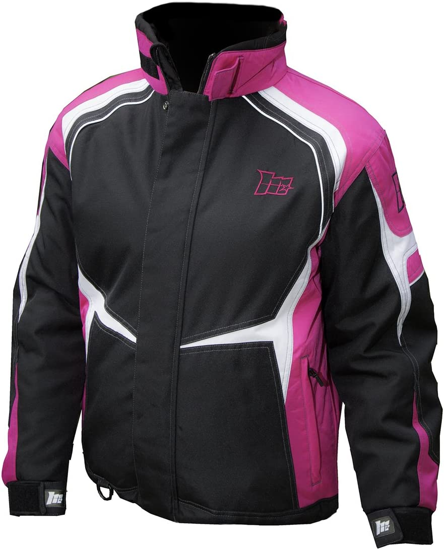 Blue Static Womens Impulse Snowmobile Jacket Large 90-310S-15 Mossi