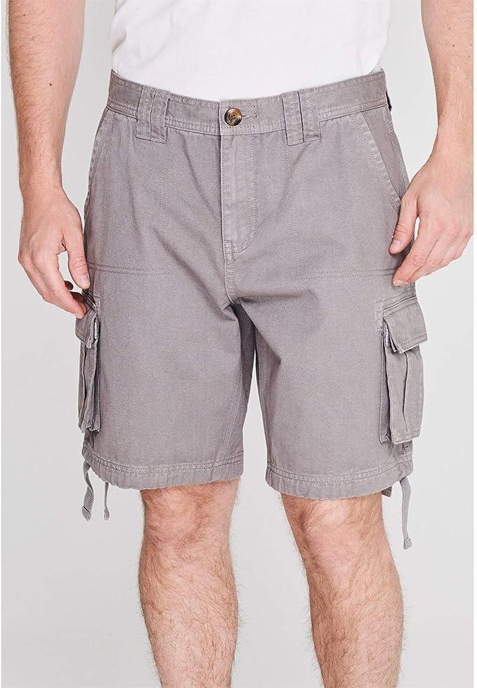 Mens SoulCal Cal Utility Shorts Cargo Cotton New