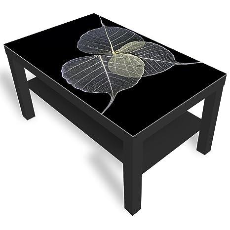 DekoGlas Mesa de Cristal Decorativo IKEA barnizada, Mesa ...