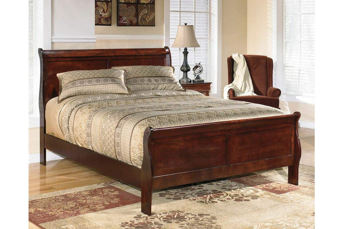 Amazing Buys Alisdair Bedroom Set by Ashley Furniture - Includes Full Bed, Dresser, Mirror and 1 Night Stand