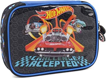 Estojo Hot Wheels, Luxcel