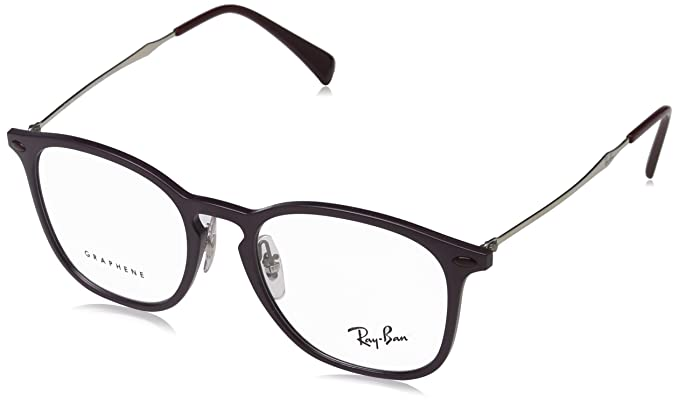 b52362f680 Image Unavailable. Image not available for. Color  Ray-Ban Men s RX8954  Eyeglasses Violet Graphene 50mm