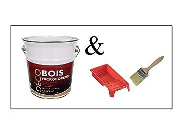 Peinture Bois Glycéro Microporeuse Intérieur Extérieur 25l Ral