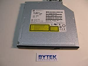 HP 652294-001 DVD-ROM drive (Jack Black Color) - SATA interface, 12.7mm slim form factor