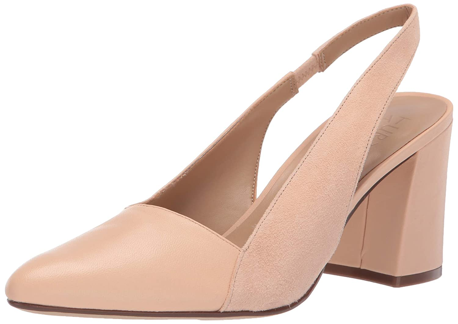 Soft Nude Naturalizer Womens Hannie Pump