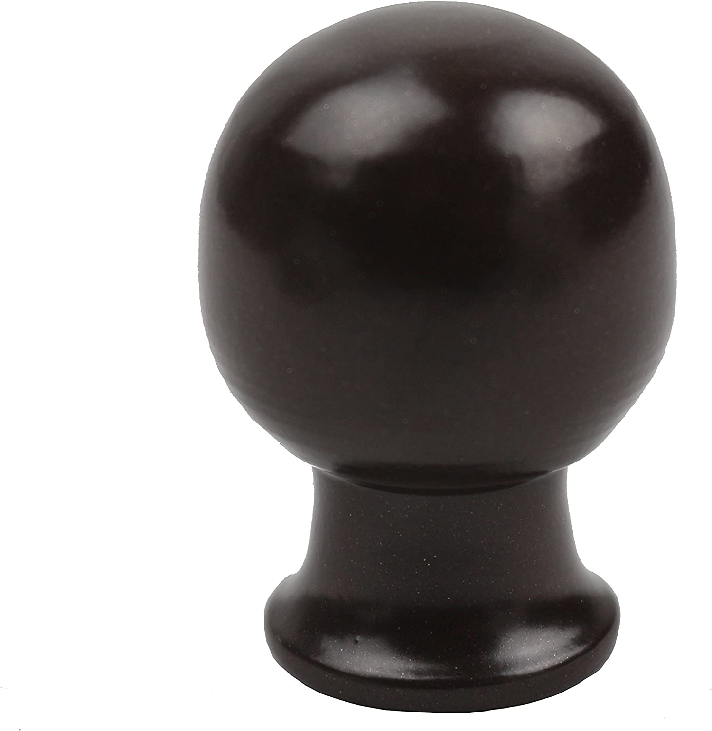 Furnishland Leo Lamp Finial For Lamp Shades,1-1//4-inch Antique Brass