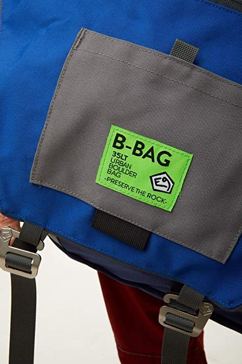E9 – Bolsa bandolera porta material B-Bag – Azul: Amazon.es ...