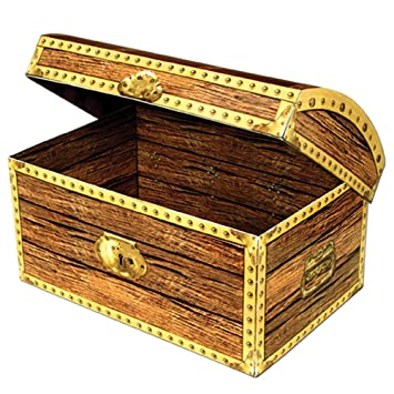 Amazon 12 treasure chest office products 12quot treasure chest publicscrutiny Image collections