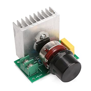 SCR Voltage Regulator Dimming Dimmers Speed Controller Thermostat 3800W CA