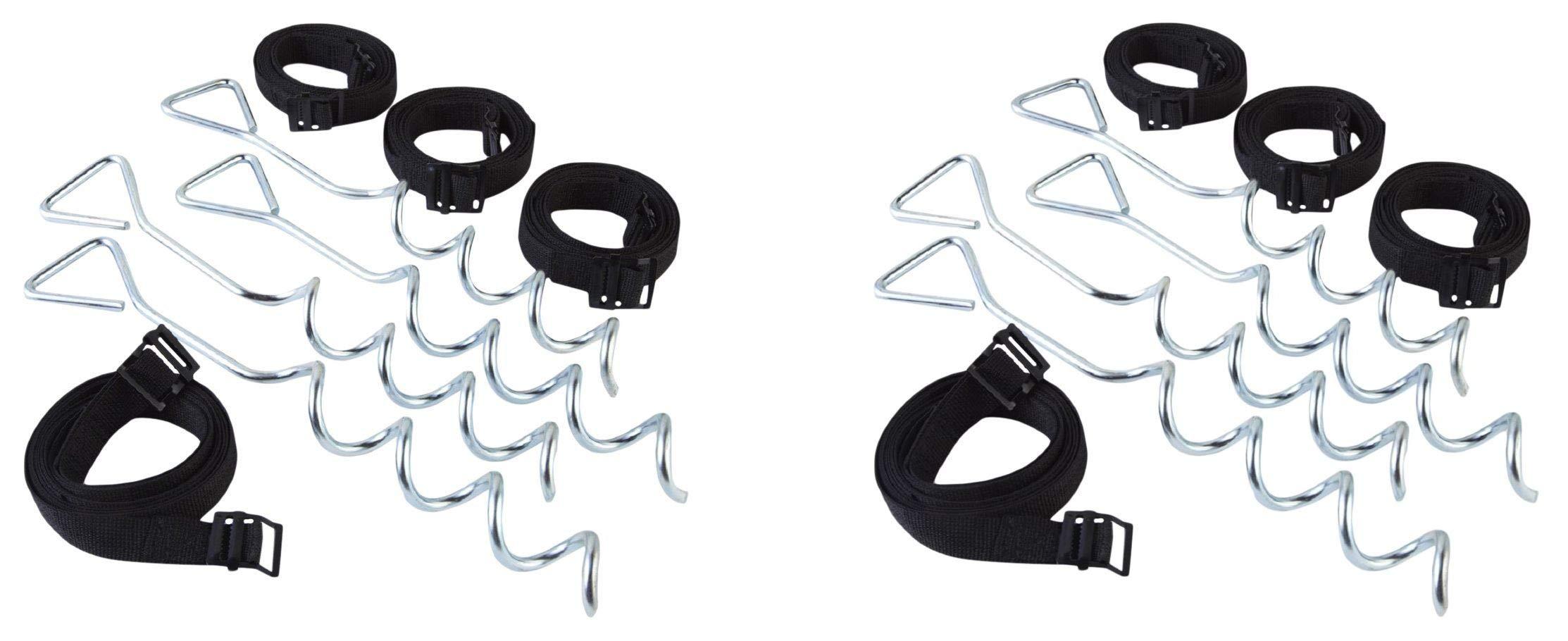 JumpKing Trampoline Anchor Kit (Тwo Рack)