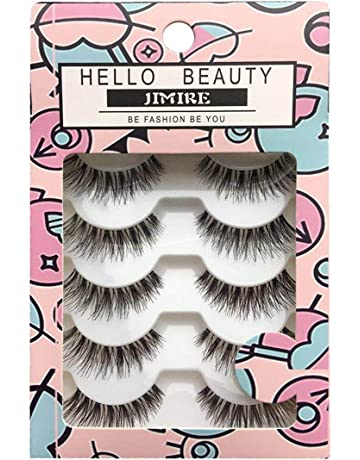 10d82da7f8c JIMIRE Fake Eyelashes Natural Lashes False Eyelashes Multipack