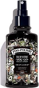 Poo-Pourri Before-You-go Toilet Spray, Trap-A-Crap Scent, 4 Fl Oz