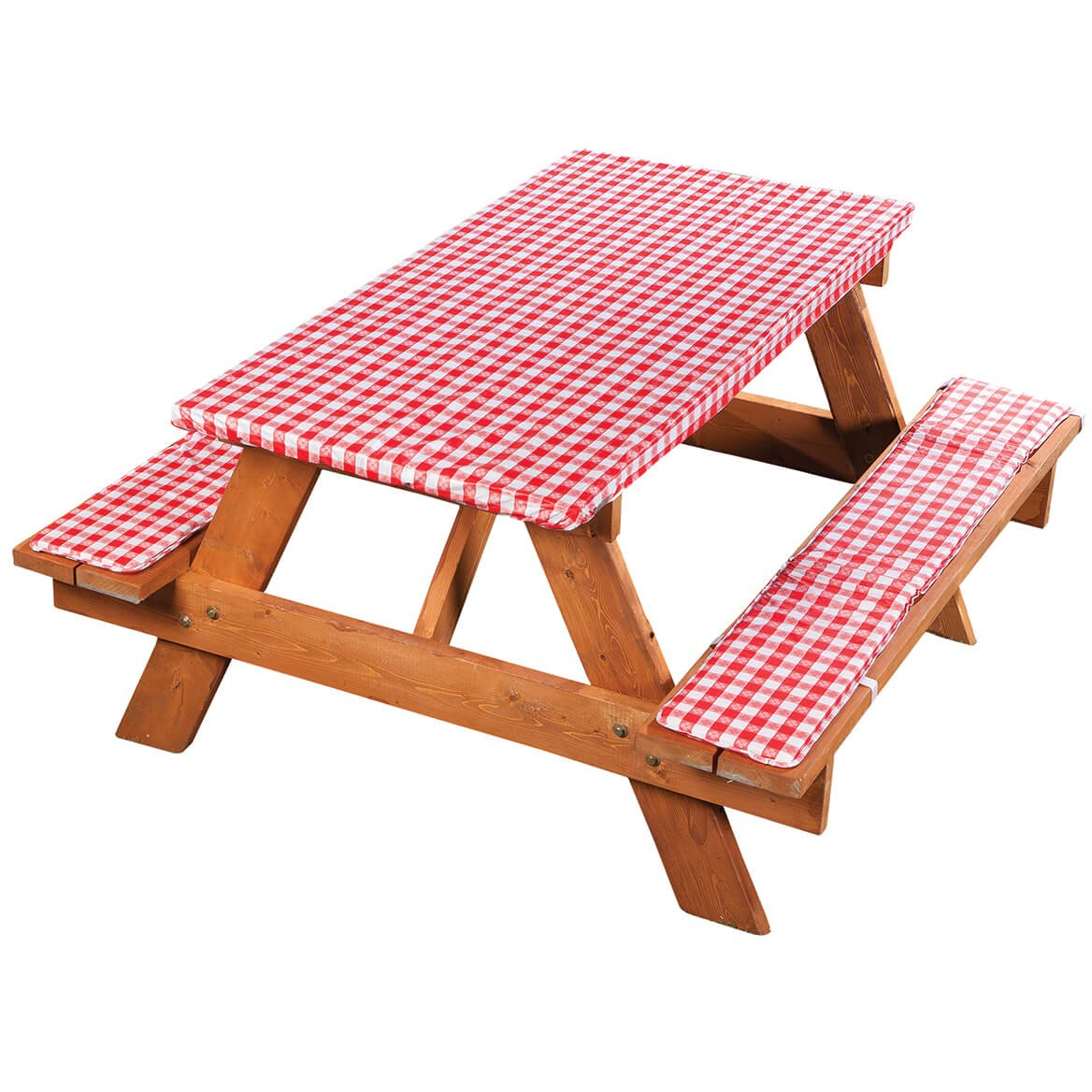 Amazon.com  Fox Valley Traders Deluxe Picnic Table Cover with Cushions  Garden \u0026 Outdoor  sc 1 st  Amazon.com & Amazon.com : Fox Valley Traders Deluxe Picnic Table Cover with ...