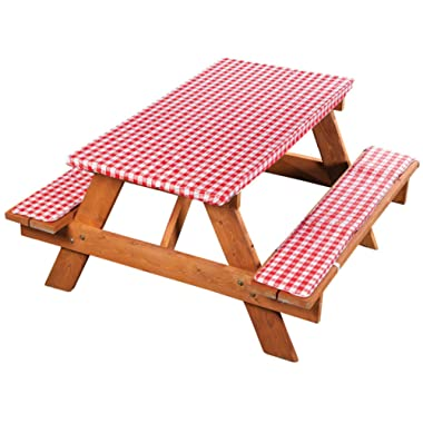 Fox Valley Traders Deluxe Picnic Table Cover with Cushions