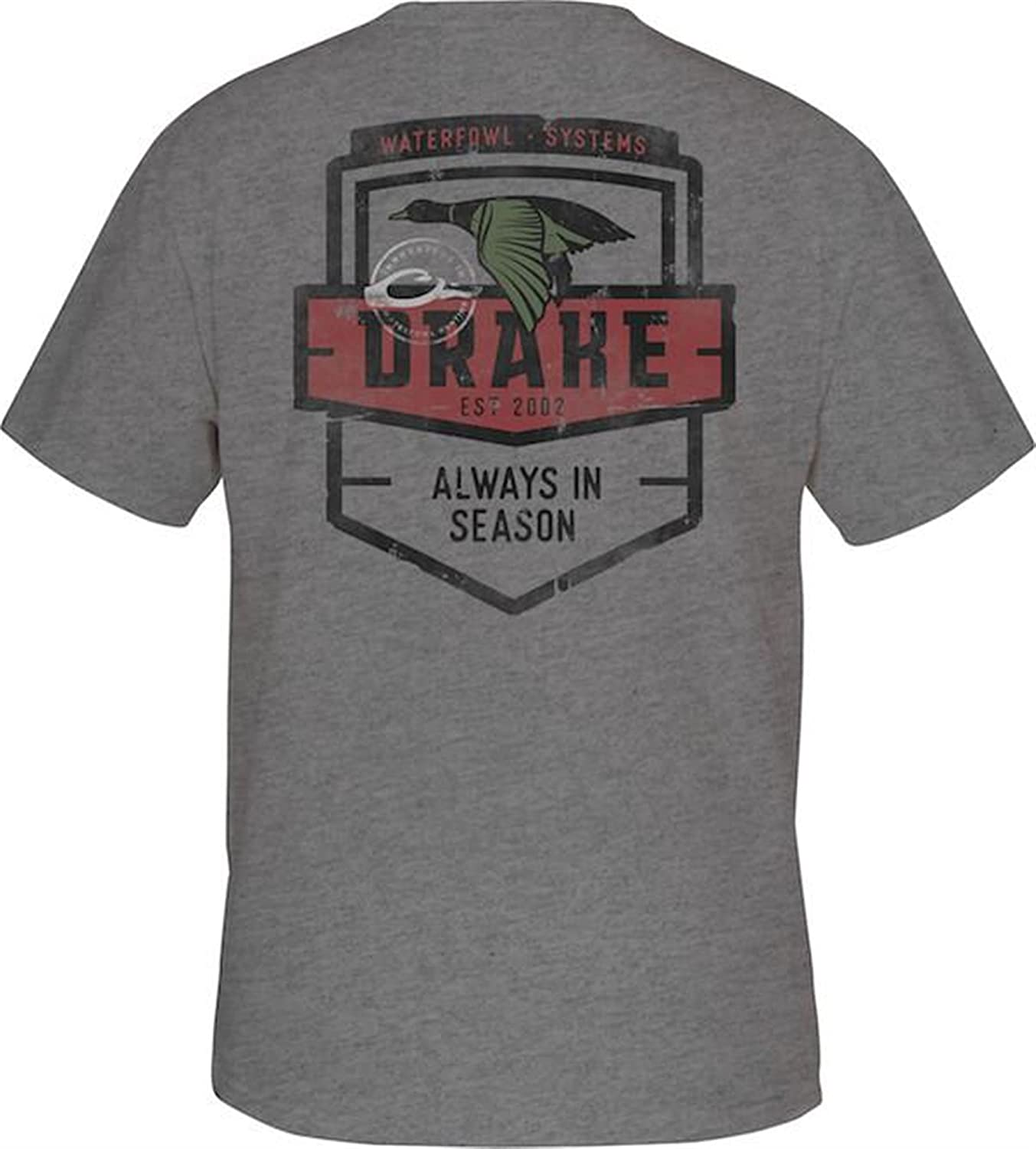 最高の品質の Drake Always In Heather Season Tシャツ半袖 – Graphite Heather ( Always – XLサイズ) B07B543GGR, 知多郡:e630b7ab --- senas.4x4.lt