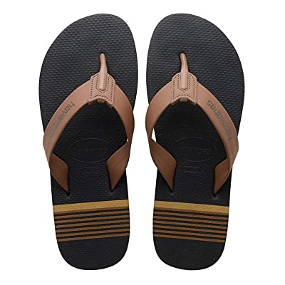 Amazon.com | Havaianas Men's Urban Craft Flip-Flop, New Graphite, 43/44 (US Men's 11/12) M | Sandals