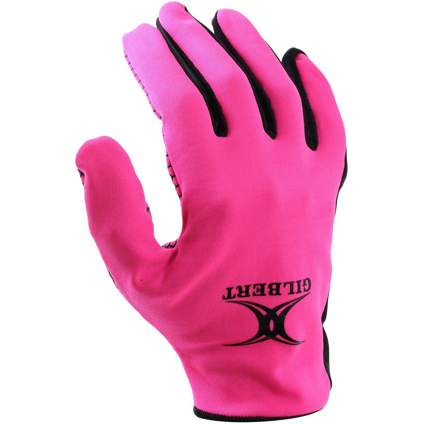 Gilbert Atomic Netball Training Gloves Grays 8911560