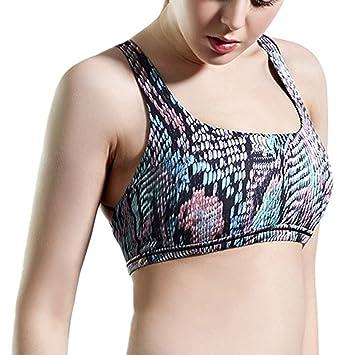 Aivtalk Mujer Cruz sin costuras faja lumbar espalda cruzada sujetador de acolchada para Yoga Running: Amazon.es: Deportes y aire libre