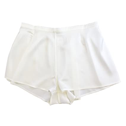 a304f9f0ef6 Jasmine Silk Lady s Classic Silk French Knickers boxers Extra Large (16-18)  Ivory (Extra Large)  Amazon.co.uk  Kitchen   Home