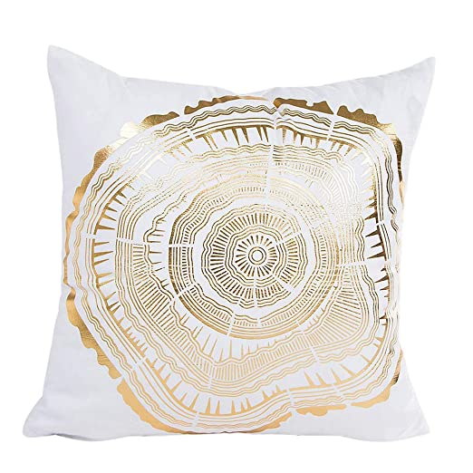 Qiujold Pillow Cover Fundas de cojín Decorativas y Suaves ...