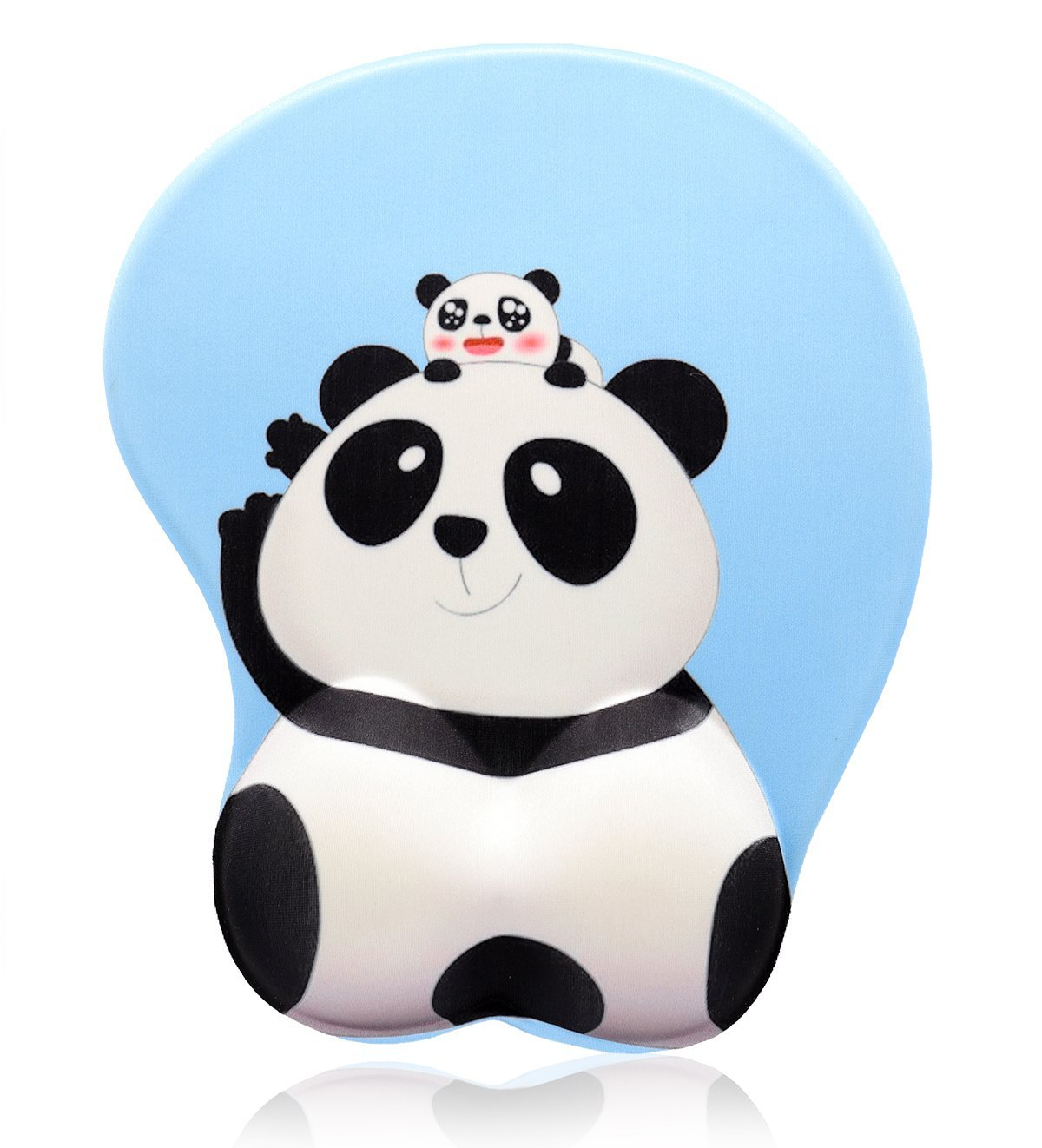 Cute Cartoon Panda Butt 3D Soft Wrist Support Gaming Office Mouse Pad (Panda) by Dream Date (Image #1)