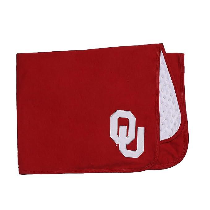 Ncaa University Of Oklahoma Baby Blanket For Boy Or Gir Red