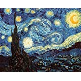 Amazon Com Starry Night By Vincent Van Gogh Poster Print