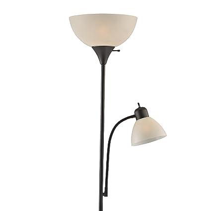 Light Accents SUSAN Floor Lamp 72u0026quot; Tall   150 Watt With Side Reading  Light