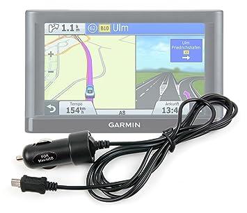 DURAGADGET Cargador para El Mechero del Coche con Mini USB para GPS NozaTec 7