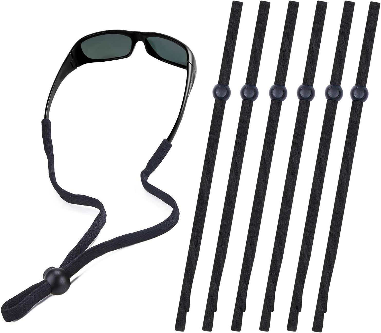 DEZHI Eyeglass Strap Sunglass Chain Holder Eyewear Retainer Eyeglasses Neck Cord for Sports and Outdoor